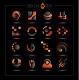 Infographic template design - Original geometrics Royalty Free Stock Photo