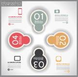 Infographic template design - Original geometrics Stock Photography