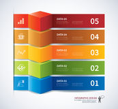 Infographic template design Royalty Free Stock Images
