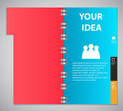 Infographic template design vector illustration Stock Photo