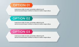 Infographic template pack set for business presentations. Infographic template element pack set for any presentations or business needs Stock Images