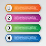 Infographic template pack set for business presentations. Infographic template element pack set for any presentations or business needs Royalty Free Stock Photography
