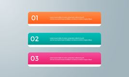 Infographic template pack set for business presentations. Infographic template element pack set for any presentations or business needs Royalty Free Stock Image