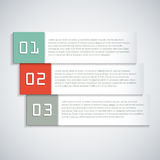 Infographic template Stock Photography