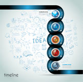 Infographic template for modern data visualization and ranking Royalty Free Stock Images
