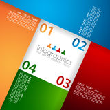 Infographic template for statistic data visualizat Royalty Free Stock Photography