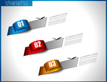 Infographic template for statistic data visualizat Royalty Free Stock Photos