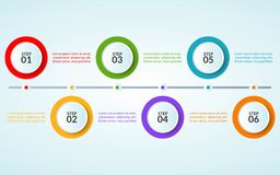 Infographic template of step or workflow diagram poster. Vector illustration vector illustration