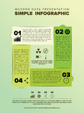 Infographic template vector design. Vector icons included Royalty Free Stock Images