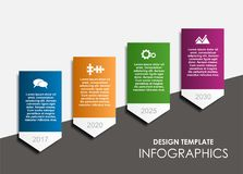 Infographic template. Vector illustration. Can be used for workflow layout, diagram, business step options, banner. Infographic template. Vector illustration Stock Images