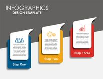 Infographic template. Vector illustration. Can be used for workflow layout, diagram, business step options, banner. Infographic template. Vector illustration Royalty Free Stock Photo