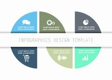 Infographic template. Can be used for workflow layout, diagram, business step options, banner, web design. Stock Photo