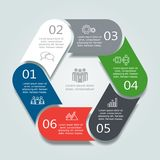 Infographic template. Can be used for workflow layout, diagram, business step options, banner, web design. Stock Photos