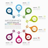 Infographic template. Vector illustration. Used for workflow layout, diagram, business step options, banner, web design. Infographic template. Vector vector illustration