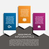 Infographic template. Vector illustration. Can be used for workflow layout, diagram, business step options, banner. Infographic template. Vector illustration Stock Image