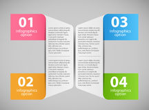 Infographic template vector illustration Stock Photo
