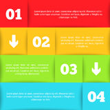 Infographic template for your design Royalty Free Stock Photo