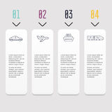 Infographic Templates for Business. Can be used for website layo Royalty Free Stock Image