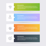 Infographic Templates for Business. Can be used for website layo Stock Image