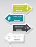 Infographic Templates for Business Vector Royalty Free Stock Photo