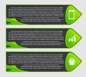 Infographic Templates for Business Vector Illustration. Royalty Free Stock Photos