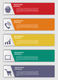 Infographic Templates for Business Vector Illustration. Royalty Free Stock Image