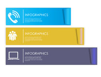 Infographic Templates for Business Vector Illustration. Royalty Free Stock Photo