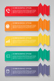 Infographic Templates for Business Vector Illustration. Stock Photography