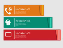 Infographic Templates for Business Vector Illustration. Stock Image