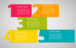 Infographic Templates for Business Vector Illustration. EPS10 Stock Photos