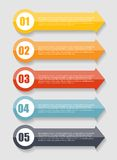 Infographic Templates for Business Vector Royalty Free Stock Photos