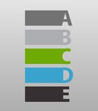 Infographic Templates for Business Vector Royalty Free Stock Image