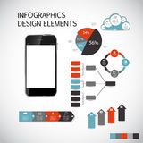 Infographic Templates for Business Vector Royalty Free Stock Images