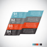 Infographic Templates for Business Vector Stock Image