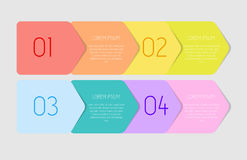 Infographic Templates for Business Vector Illustration. Stock Photo