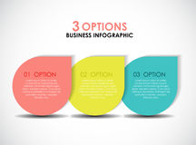 Infographic Templates for Business Vector Illustration Royalty Free Stock Photos