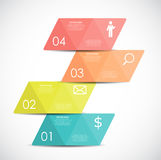 Infographic Templates for Business Vector Illustration Royalty Free Stock Photography