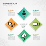 Infographic Templates for Business Vector Illustration, banner, timeline, chart, graph vector. Infographic Templates for Business Vector Illustration, web design Royalty Free Stock Photos