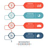 Infographic timeline template can be used for chart, diagram, web design, presentation, advertising, history. Vector infographic illustration vector illustration