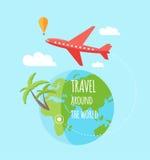 Infographic, travel, flat design Stock Photos