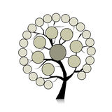 Infographic tree for your design Stock Photography