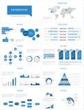 Infographic uppsättning för detalj. Arkivfoton