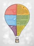 Infographic vector balloon Stock Photo