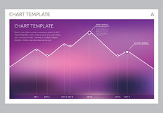 Infographic Vector design interface template design. Transparent user interface Minimalistic widget card interface Royalty Free Stock Photography