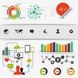 Infographic Vector Elements Royalty Free Stock Images