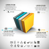 Infographic Royalty Free Stock Photography
