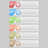 Infographic vector illustration. can be used for workflow layout, diagram, number optionsinfographic vector illustration. Modern Design template / can be used Stock Images