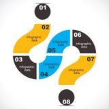 Kreatives infographic stock abbildung
