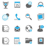Infographic web pictogram Royalty Free Stock Photography