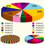 Infographic-Werkzeugsatz Lizenzfreie Stockfotos